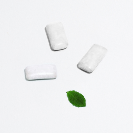 Chewing-gum naturel menthe forte