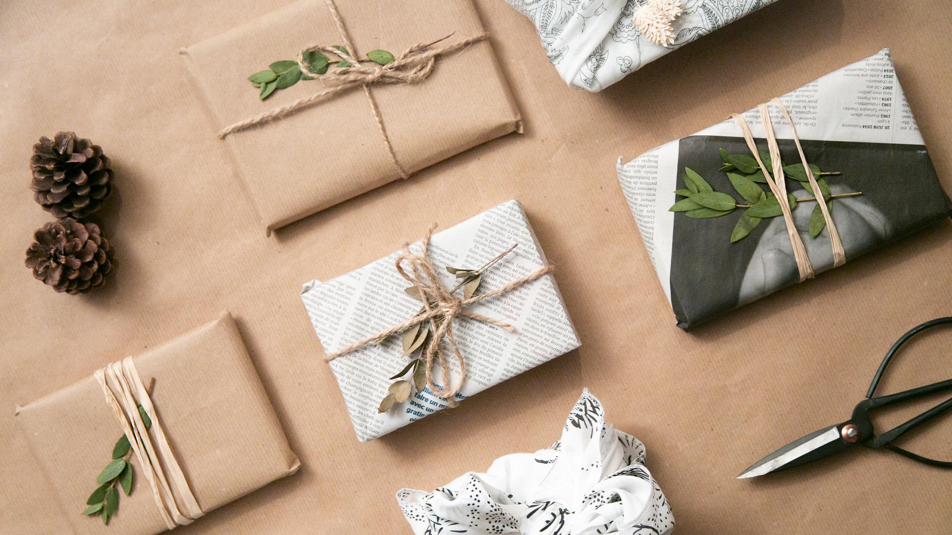 Emballage cadeau : les options durables