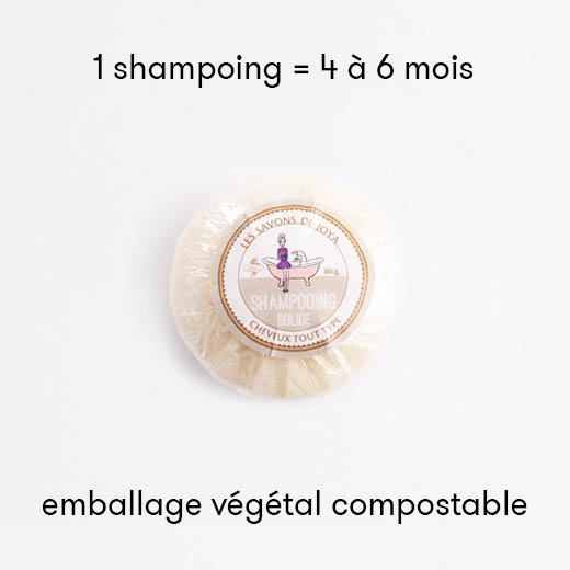 Shampoing solide - Cheveux Normaux