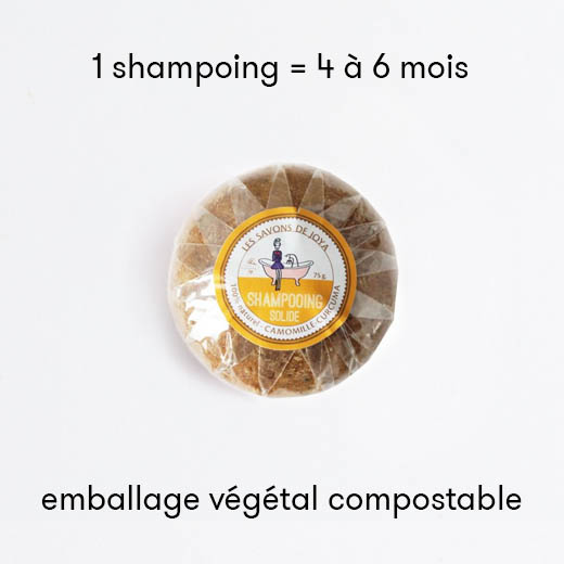 Shampoing solide - Camomille Curcuma