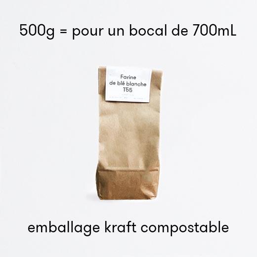 Farine de blé blanche - T55