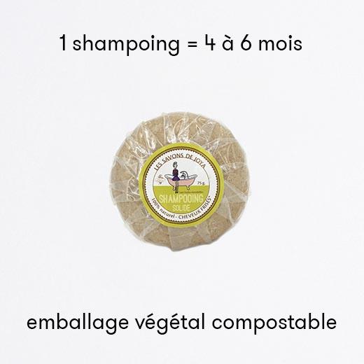 Shampoing solide cheveux frisés