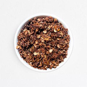 Granola chocolat amarante soufflée