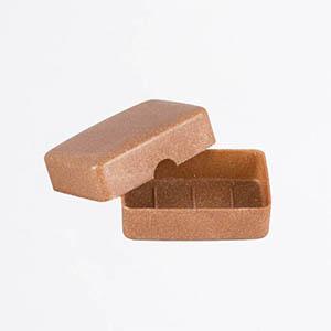 Boîte à savon compostable