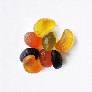 Bonbons gélifiés aux fruits