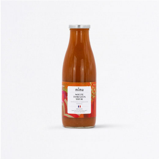 Soupe tomate & thym
