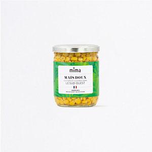 Maïs doux cuit