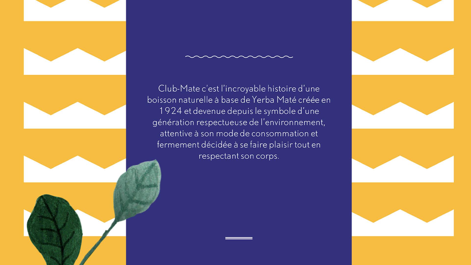 Club-Mate consigne soda boisson histoire