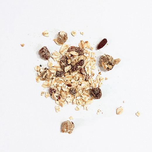 Porridge de Goji chia & mûres blanches