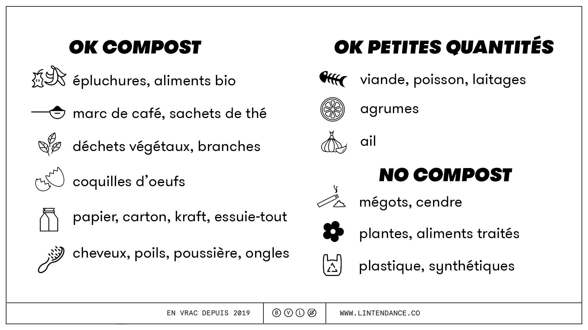 que composter que ne peut on pas composter compostage OK