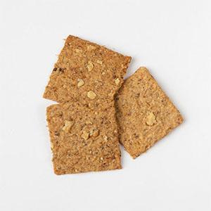 Crackers drêches, figues et noix