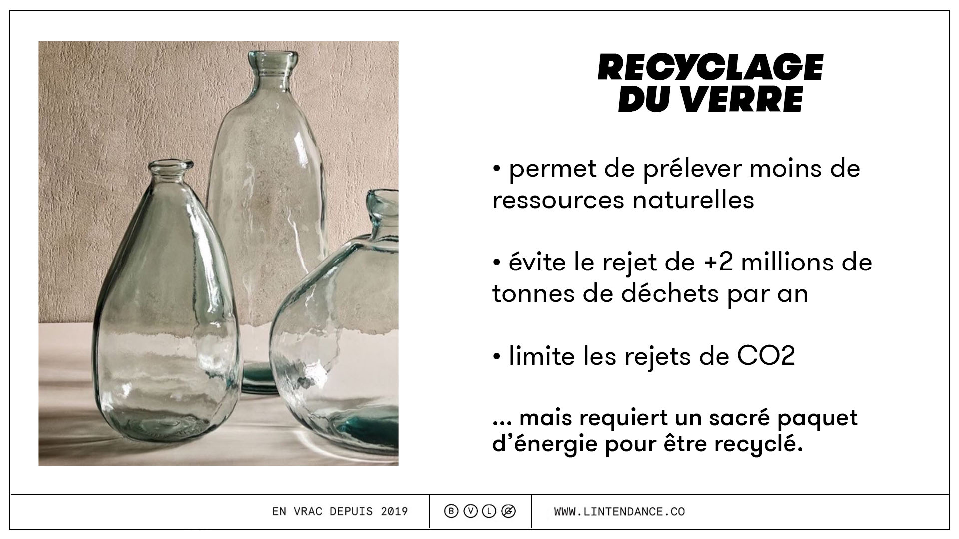 verre recyclage environnement zéro déchet consigne