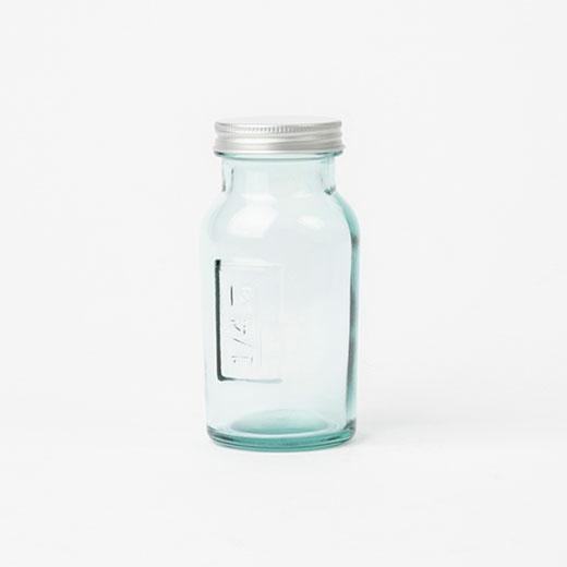 Bocal 1/4 kg en verre recyclé