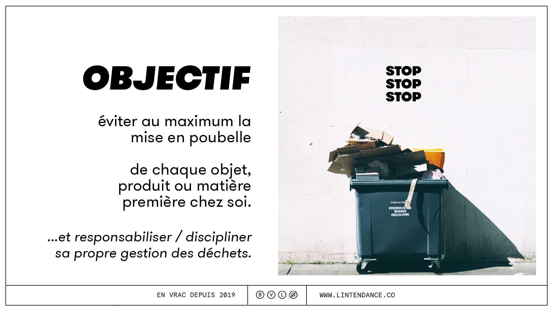 Zéro déchet réemploi réutiliser réparer environnement poubelle déchet