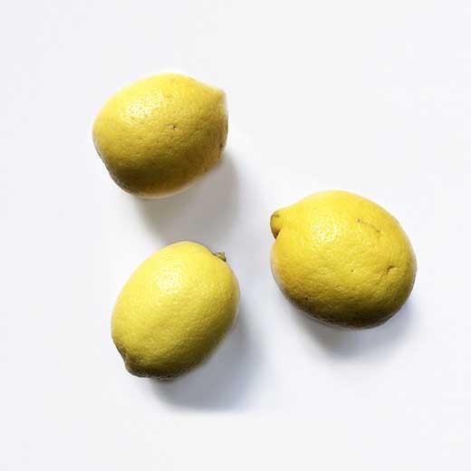 citrons 3 pièces
