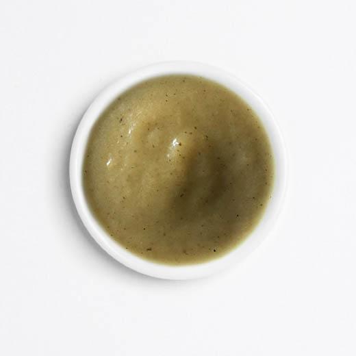 Soupe courgette roquefort
