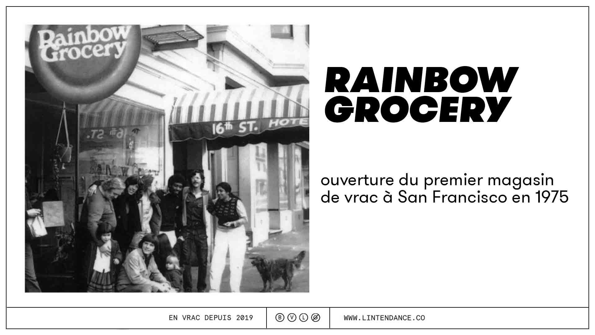 Vrac première boutique épicerie vrac histoire du vrac