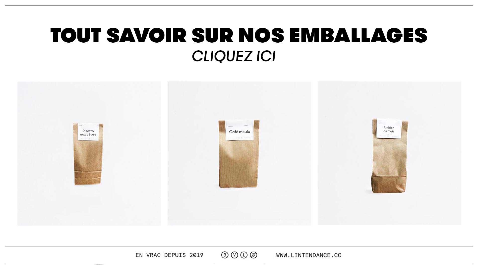 Emballage kraft recyclable compostable biodégradable