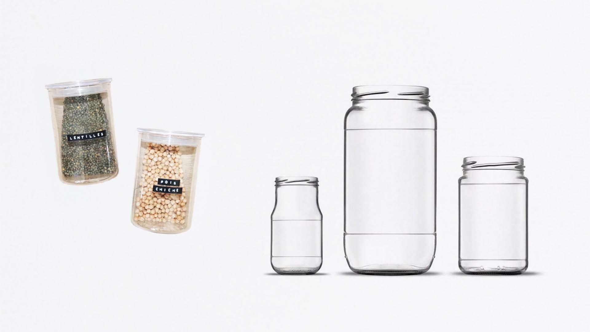 Retirer étiquettes bocaux zero dechet naturel vrac