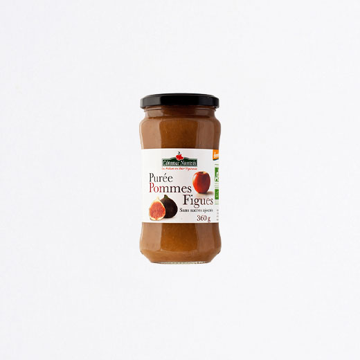 Compote pommes figues 360 g
