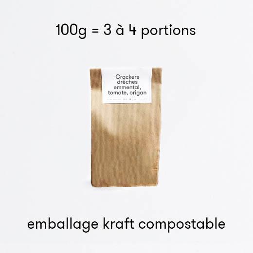 Crackers emmental tomate & origan