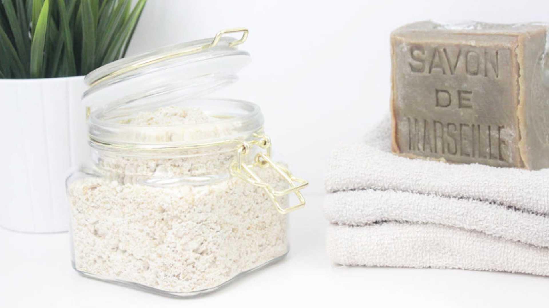 lessive en poudre faite maison