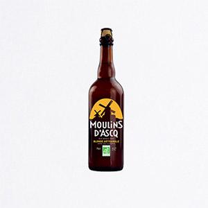 Bière blonde Moulin d'Asq 75 cl