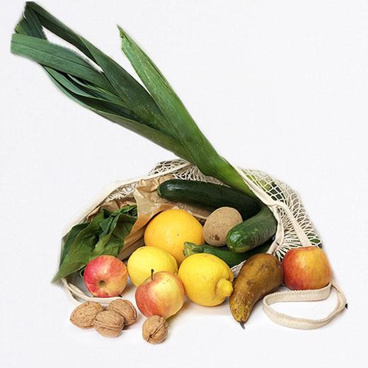 Moyen panier fruits et legumes
