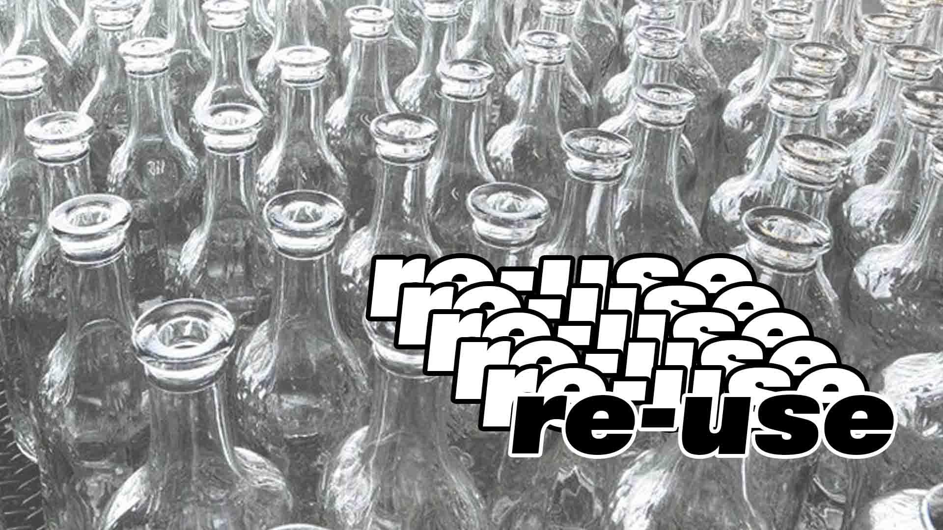 consigne bouteilles consignées réutiliser zéro déchet