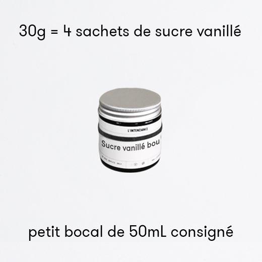 Sucre vanillé bourbon de Madagascar bio