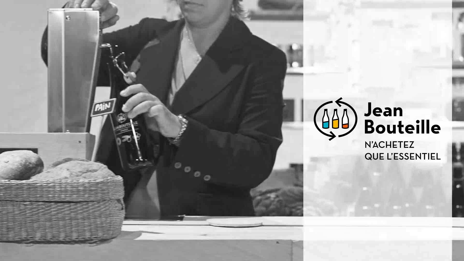 Jean Bouteille producteur vrac liquide bouteille consignée