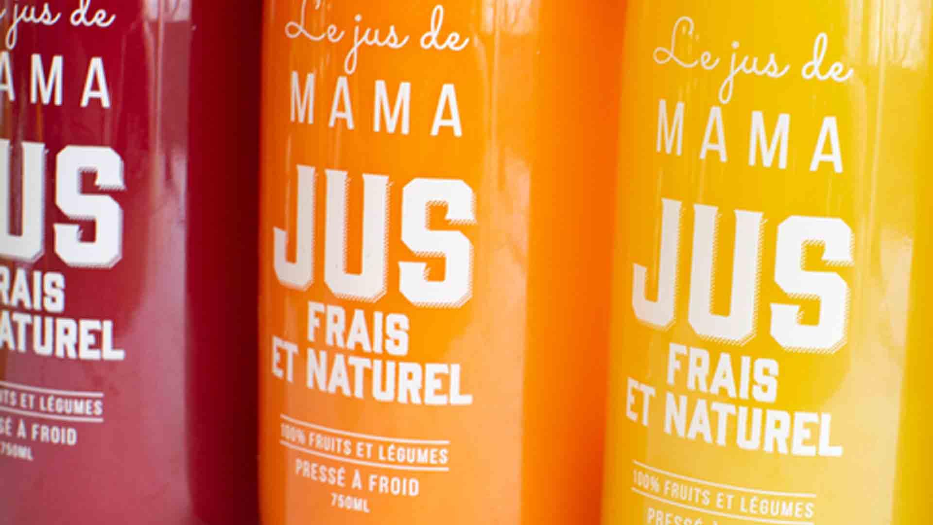 Jus de Mama jus de fruit naturel bouteille consignée eco responsable