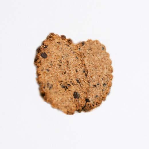 Biscuits petit déjeuner pépites de chocolat noir