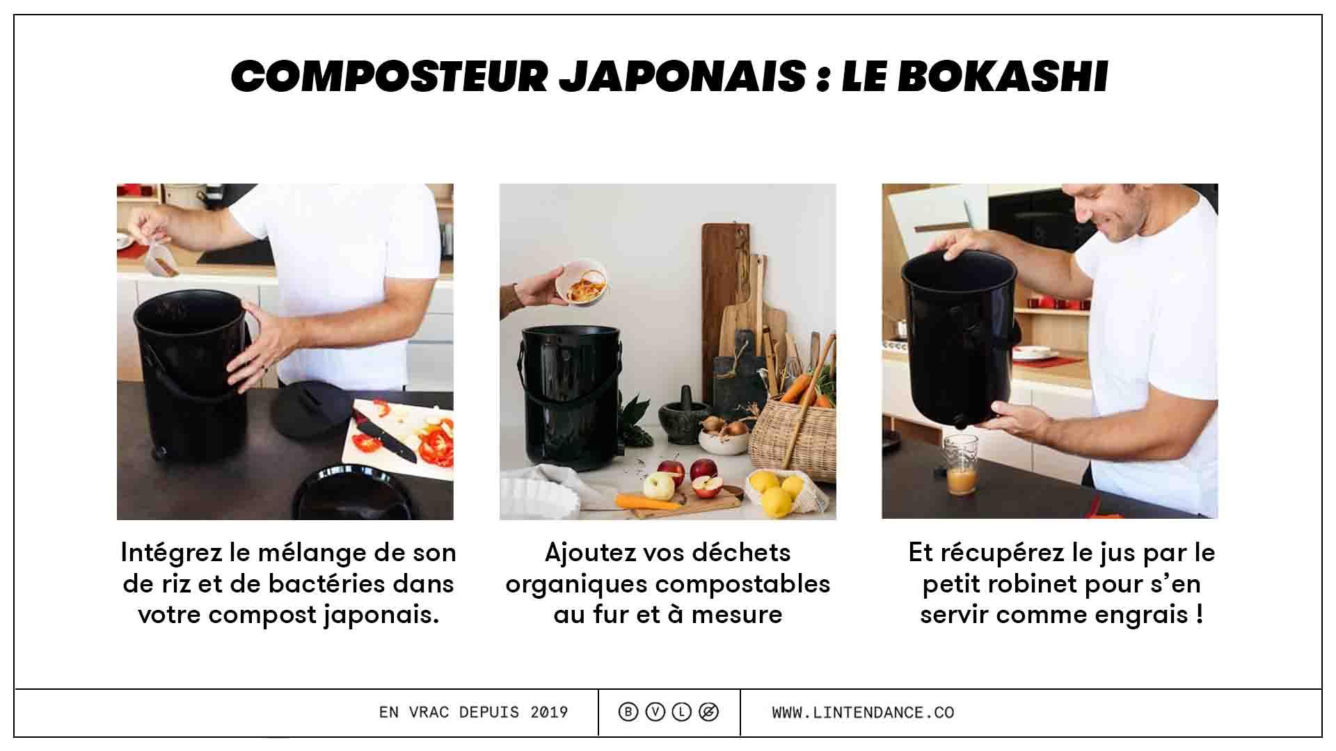 composteur japonais bokashi