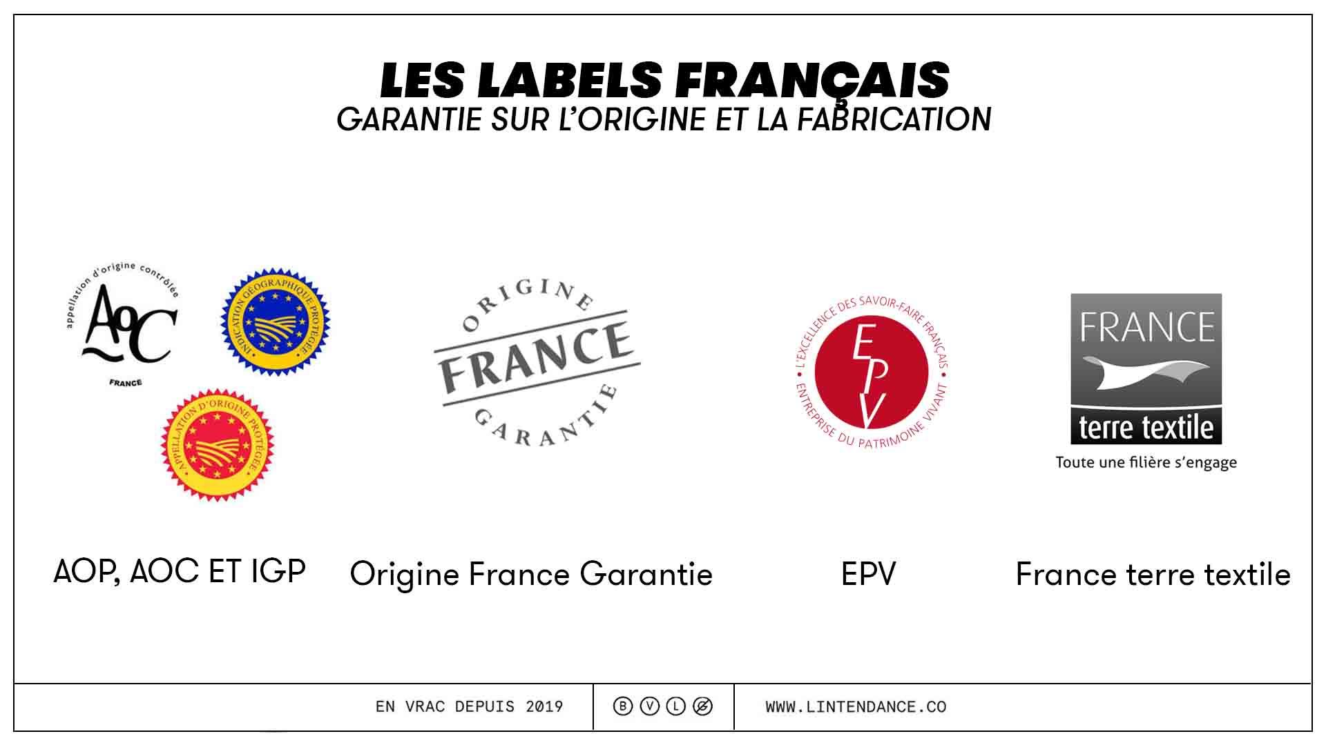 Labels français acheter produits made in France