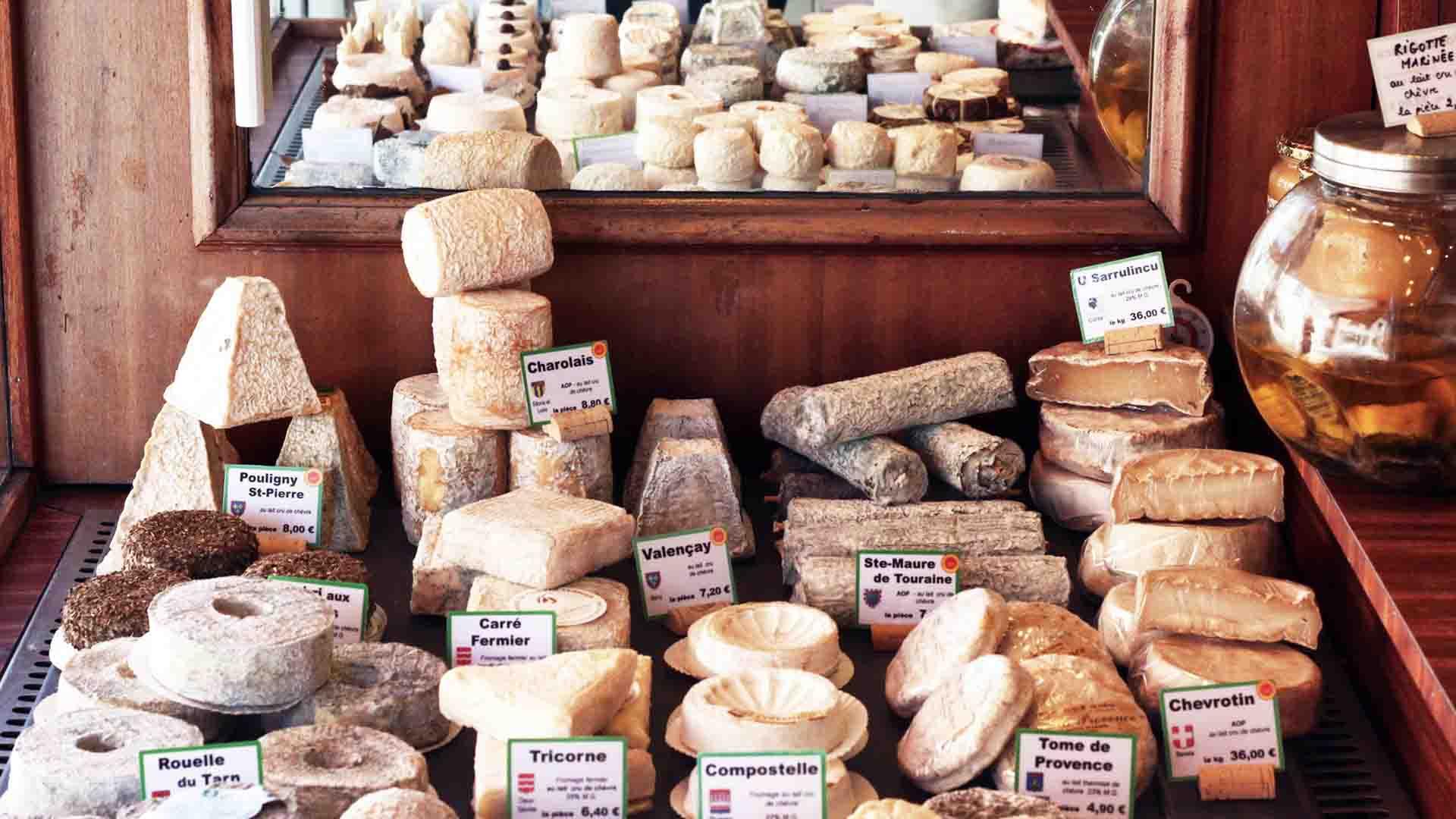 Acheter produits français fromages
