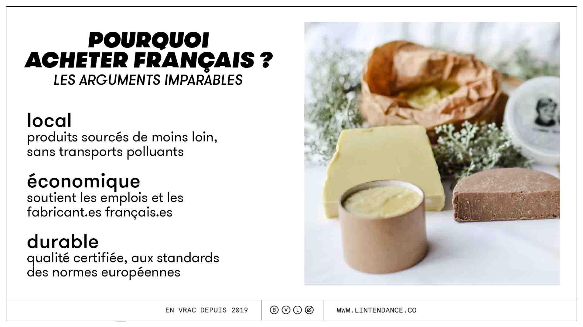 pourquoi acheter français produits made in france