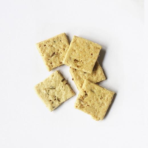 Biscuits emmental et graines de moutarde