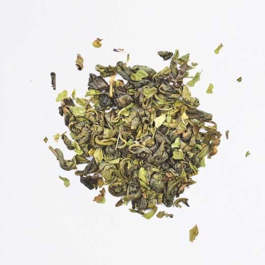 Thé vert Casbah menthe bio