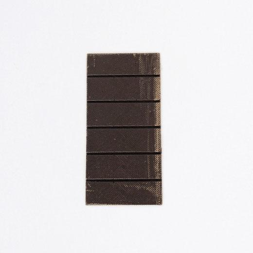 Tablette chocolat noir citron/gingembre