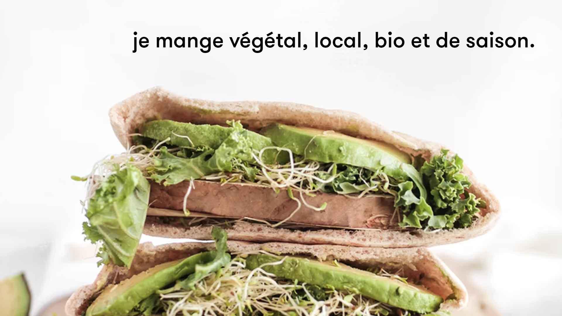 Empreinte carbone alimentation végétal vegan vegetarien