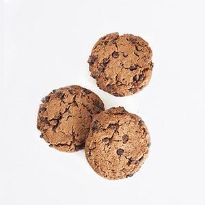 Cookies tout chocolat bio