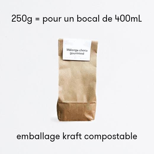 Mélange choco gourmand bio