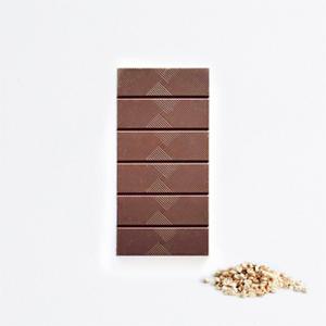 Tablette chocolat au lait sarrasin soufflé