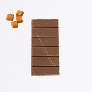 Tablette chocolat lait caramel beurre salé