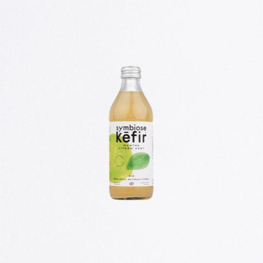 Kéfir de fruits Citron Menthe verte