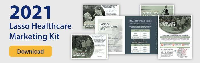 get the lasso healthcare marketing kit