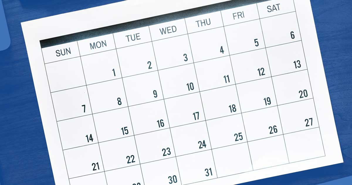 Quickly Find Webinars and Trainings on the Redesigned Events Calendar