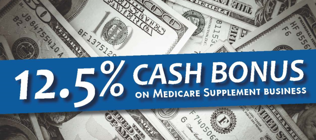 Americo/GSL UFirst Medicare Supplement Cash Bonus