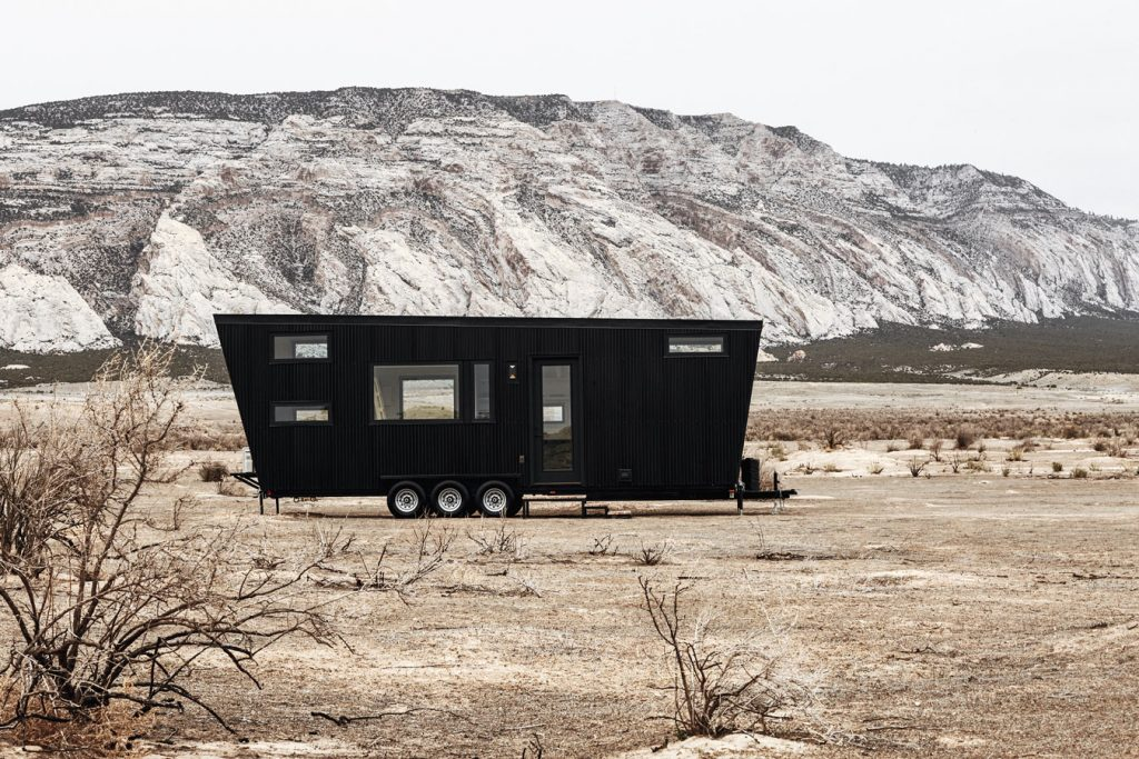 Efficiently built as a high-design house yet sized like an RV, the Drake gives you the ultimate freedom to go wherever you want with your modern tiny house. Designed to comfortably sleep up to 6 with two main lofts and a main floor flex space to customize as you wish.